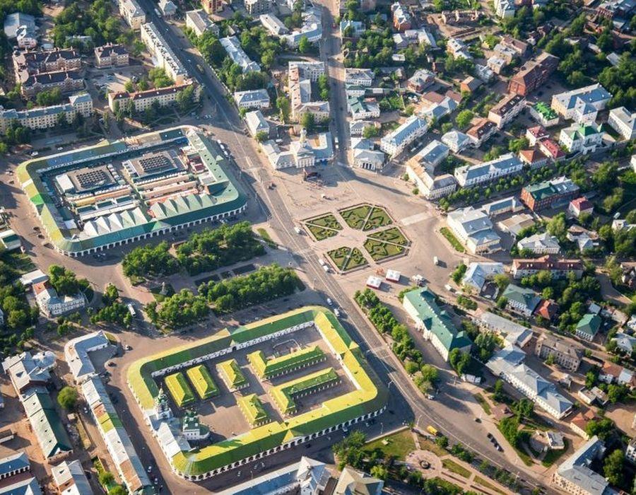 Сусанинская площадь / Группа ВК.Кострома какая она есть.