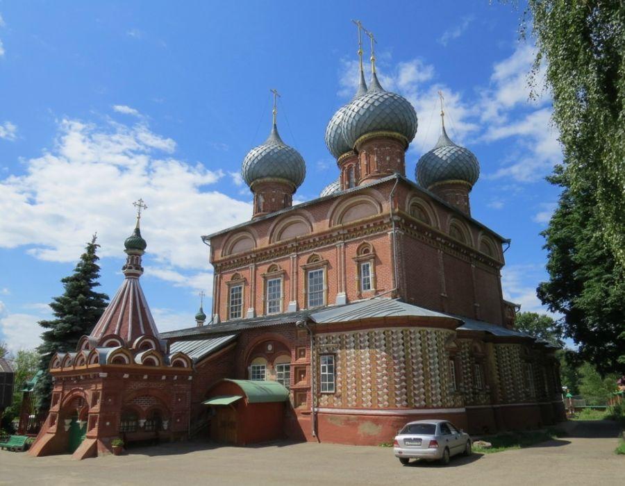 Церковь Вознесения на Дебре (1645г.) / Яндекс-фотки.GEX2004